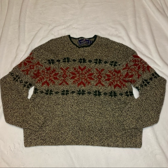 Polo by Ralph Lauren Other - Rare Vintage Polo Sport Hand Knit Holiday Sweater